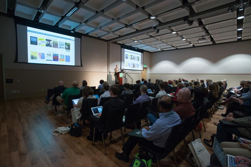 photo of audience during 2016 Open Access Symposium