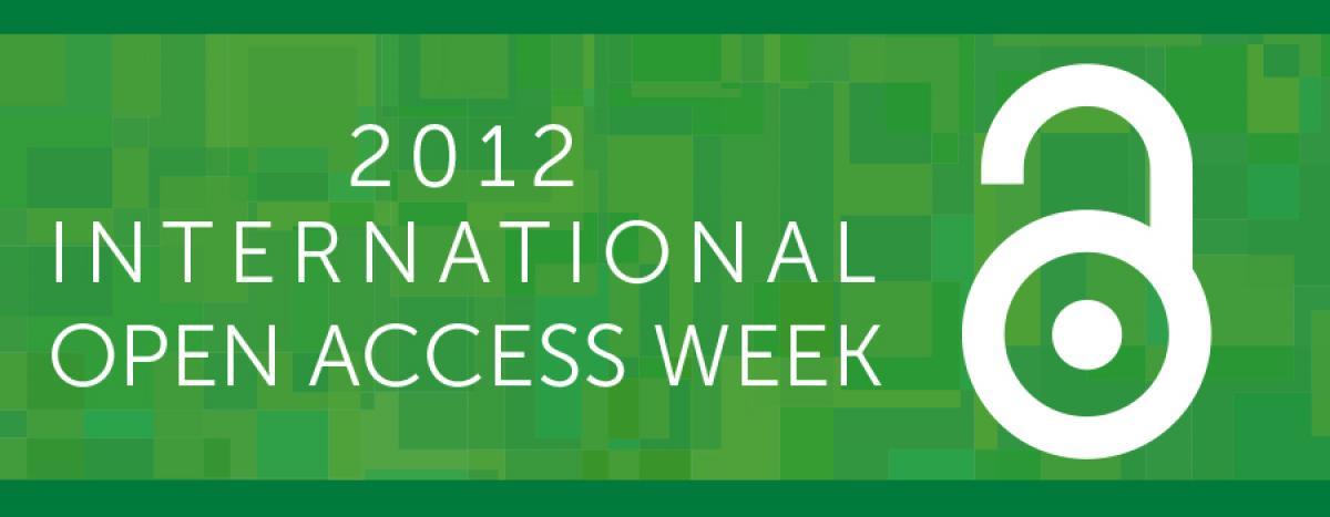 2012 International Open Access week image