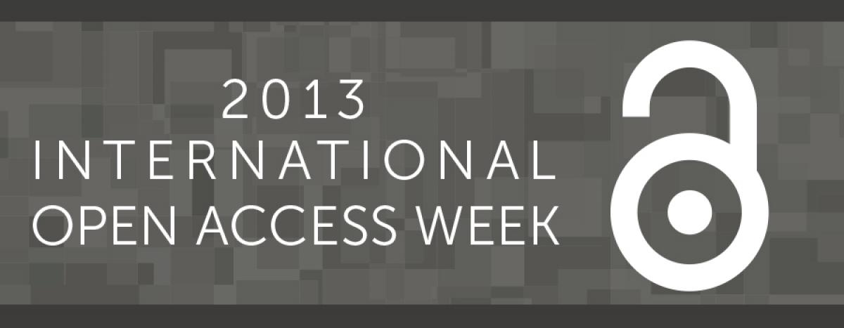 2013 International Open Access Week image
