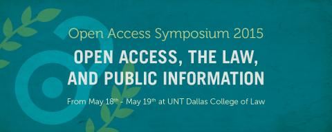 Open Access Symposium 2015 Banner